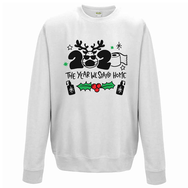 2020 The Year We Stayed Home - Christmas Jumper
