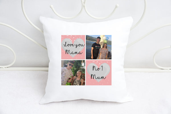 """Love you Mama"" Personalised Photo Cushion"