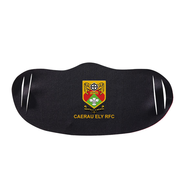 Black Face Mask - Caerau Ely RFC