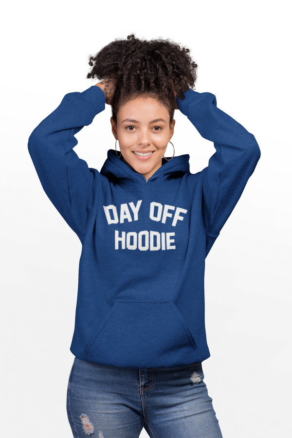 """DAY OFF"" Slogan Hoody"
