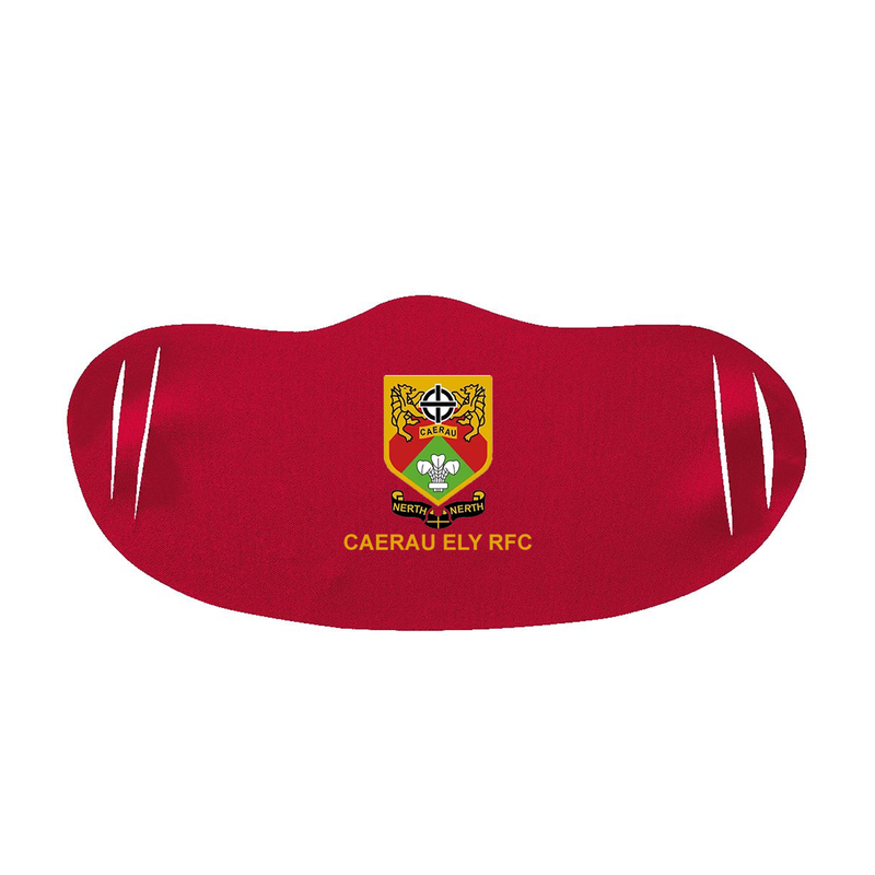 Red Face Mask - Caerau Ely RFC