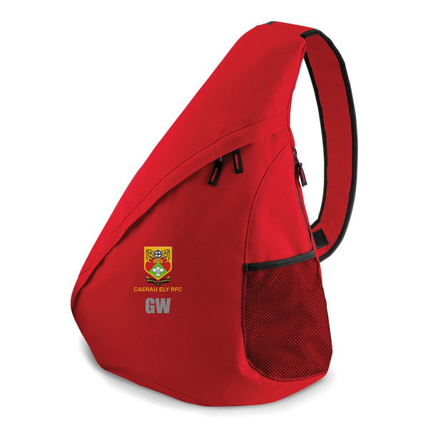 Teardrop Bag Red- Caerau Ely RFC