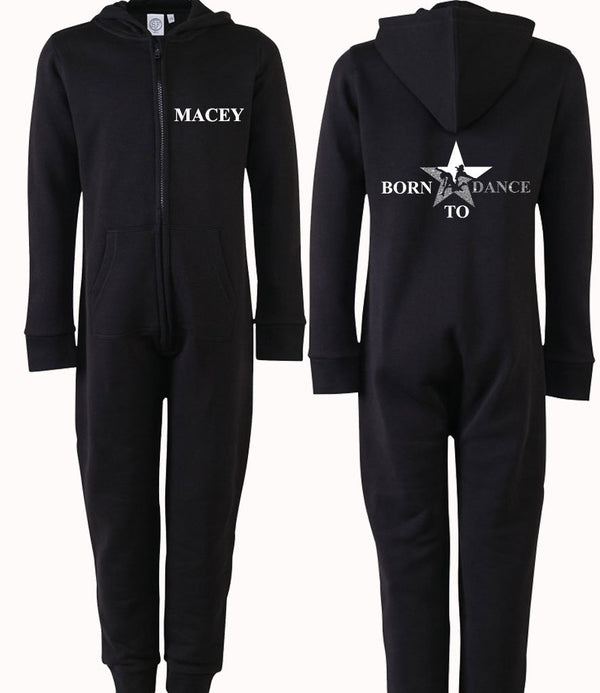 Born to dance star Personalised Onesie