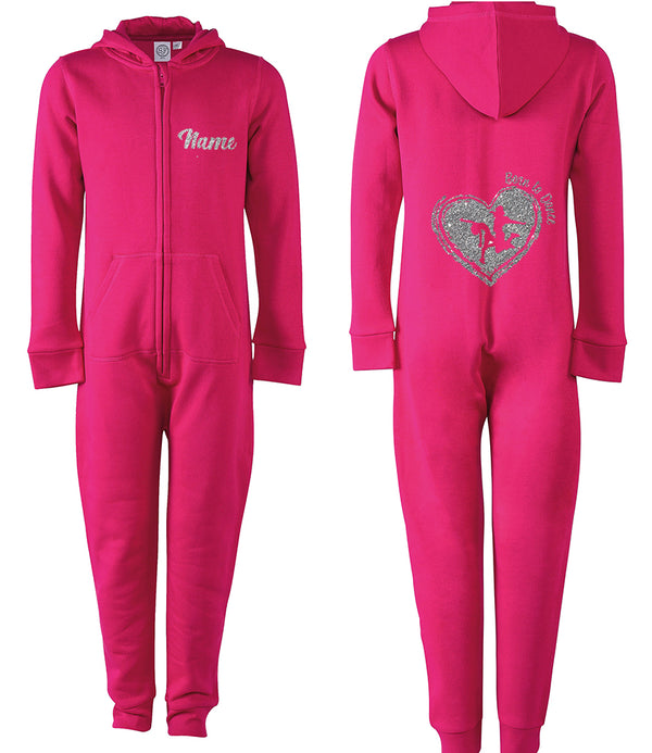 Born To Dance Heart Personalised Onesie