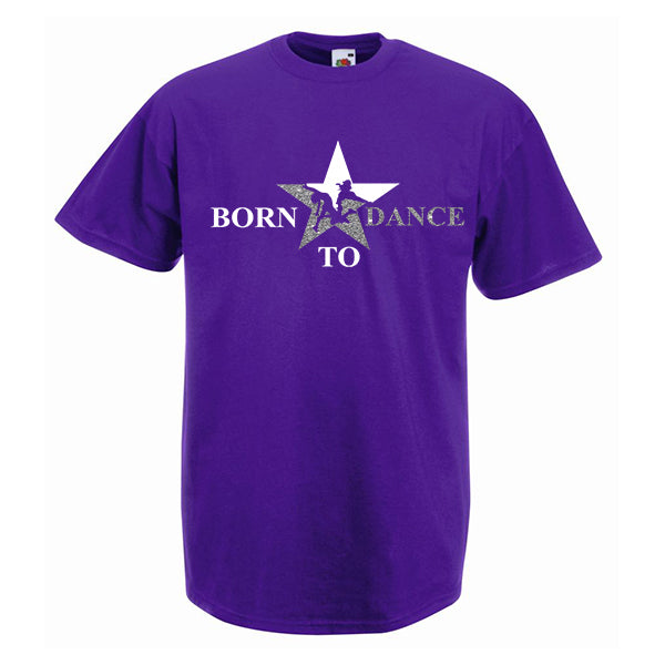 Born To Dance Star Tshirt