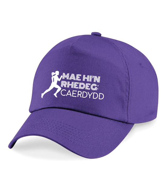 She Runs Cardiff Baseball Cap