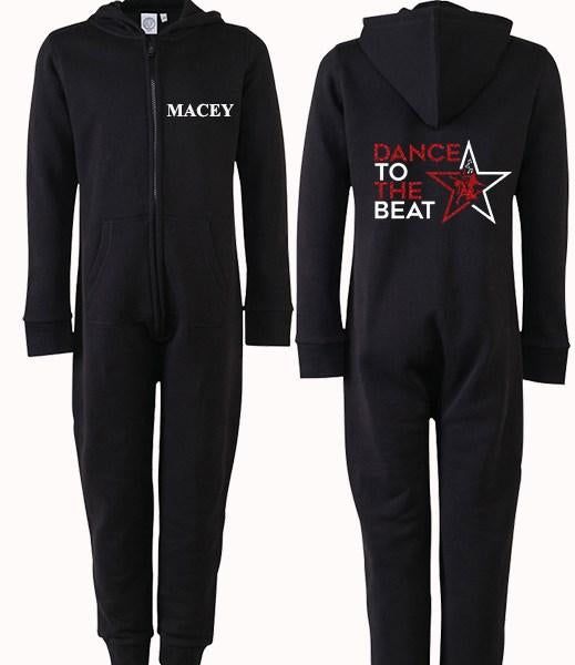 Dance to the beat Personalised Onesie