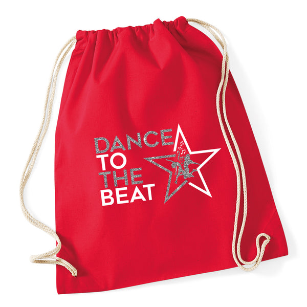 Dance To The Beat Drawstring Bag