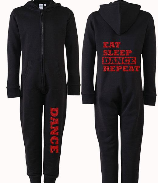 Eat Sleep Dance Repeat Personalised Onesie