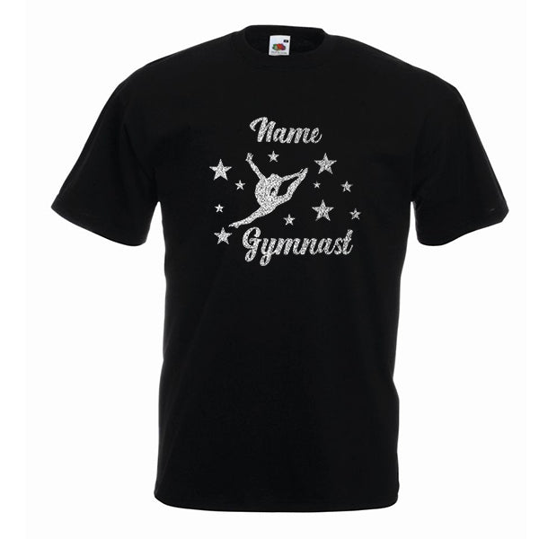 Gymnast Stars Personalised Tshirt
