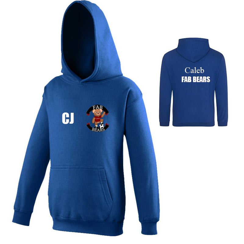 Fab Bears Hooded Jumper
