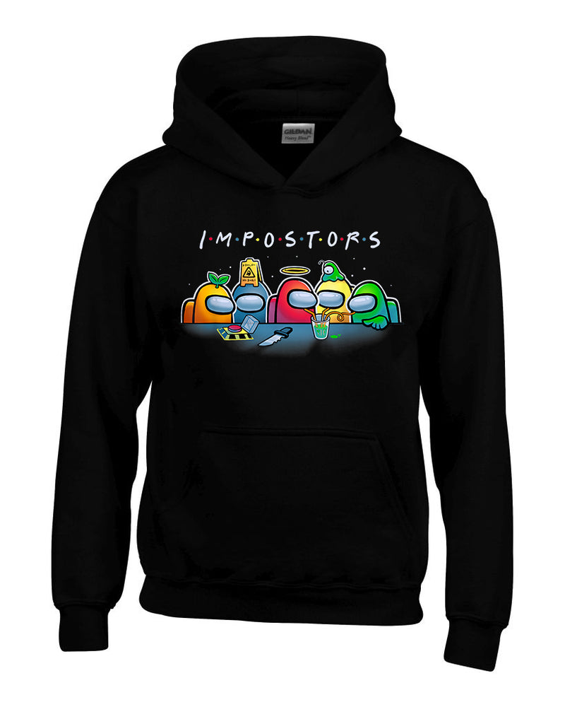 Imposter Friends Among Us Hoodie