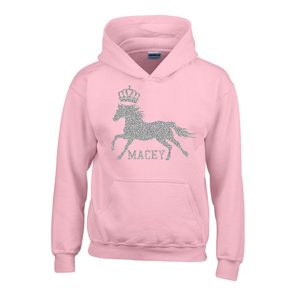 Personalised Horse Riding Hoody