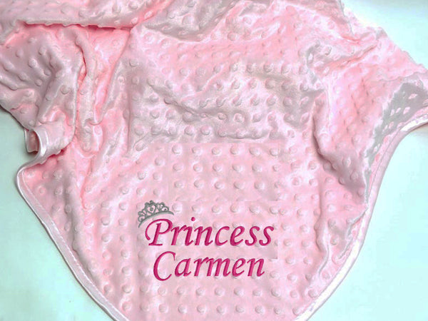 Personalised Baby Blanket – Princess