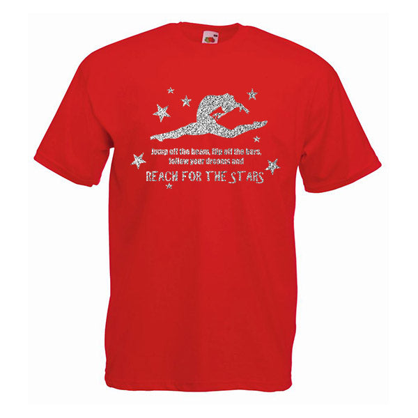 Reach For The Stars Gymnastics Tshirt