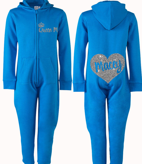 Queen Heart Personalised Onesie