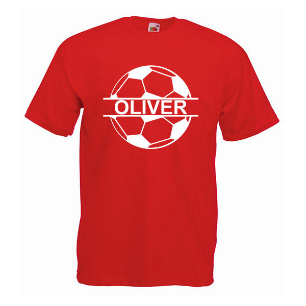 Football Personalised Tshirt