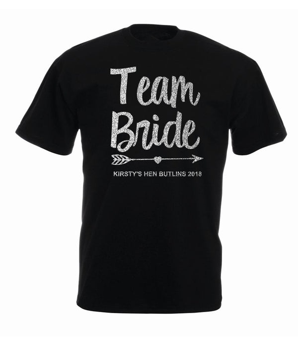 Team Bride Hen Tshirt - design 1