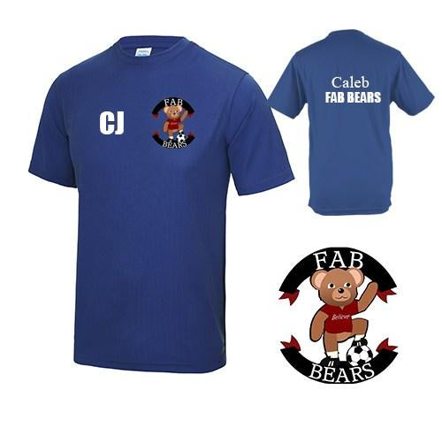 Fab Bears Training Tee