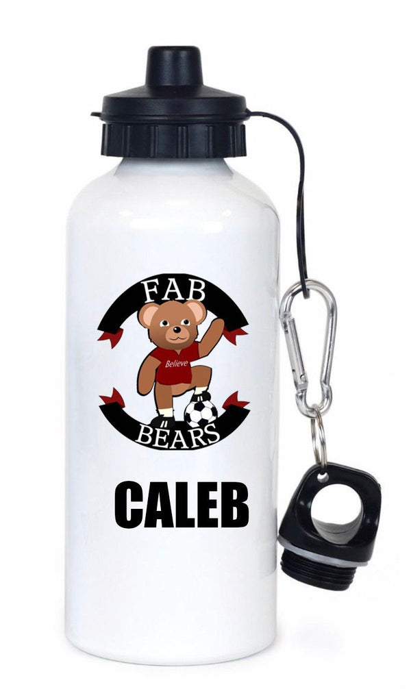 Fab Bears Personalised Drinks Bottle