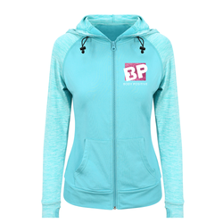 Zip up Hoodie Peppermint - Body Positive