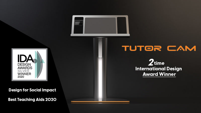TutorCam Wins Prestigious International Design Award