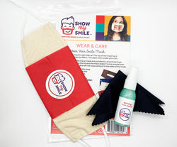 Smile Mask Care Kit (Any Color)
