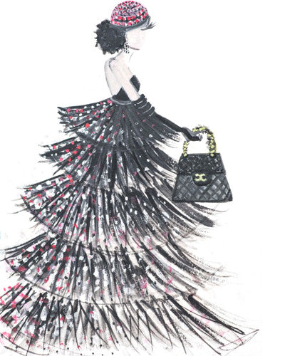 Chanel Couture Gown