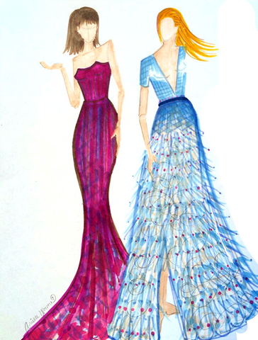 "Fashion Illustration ""Girl Bosses"""