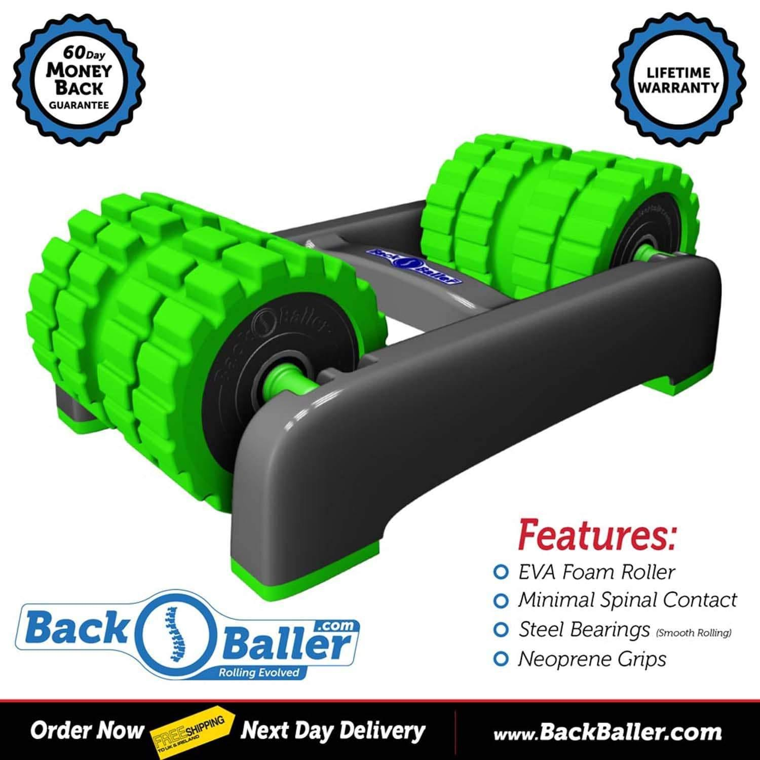 BackBaller Double Foam Roller - Bourke Sports Limited