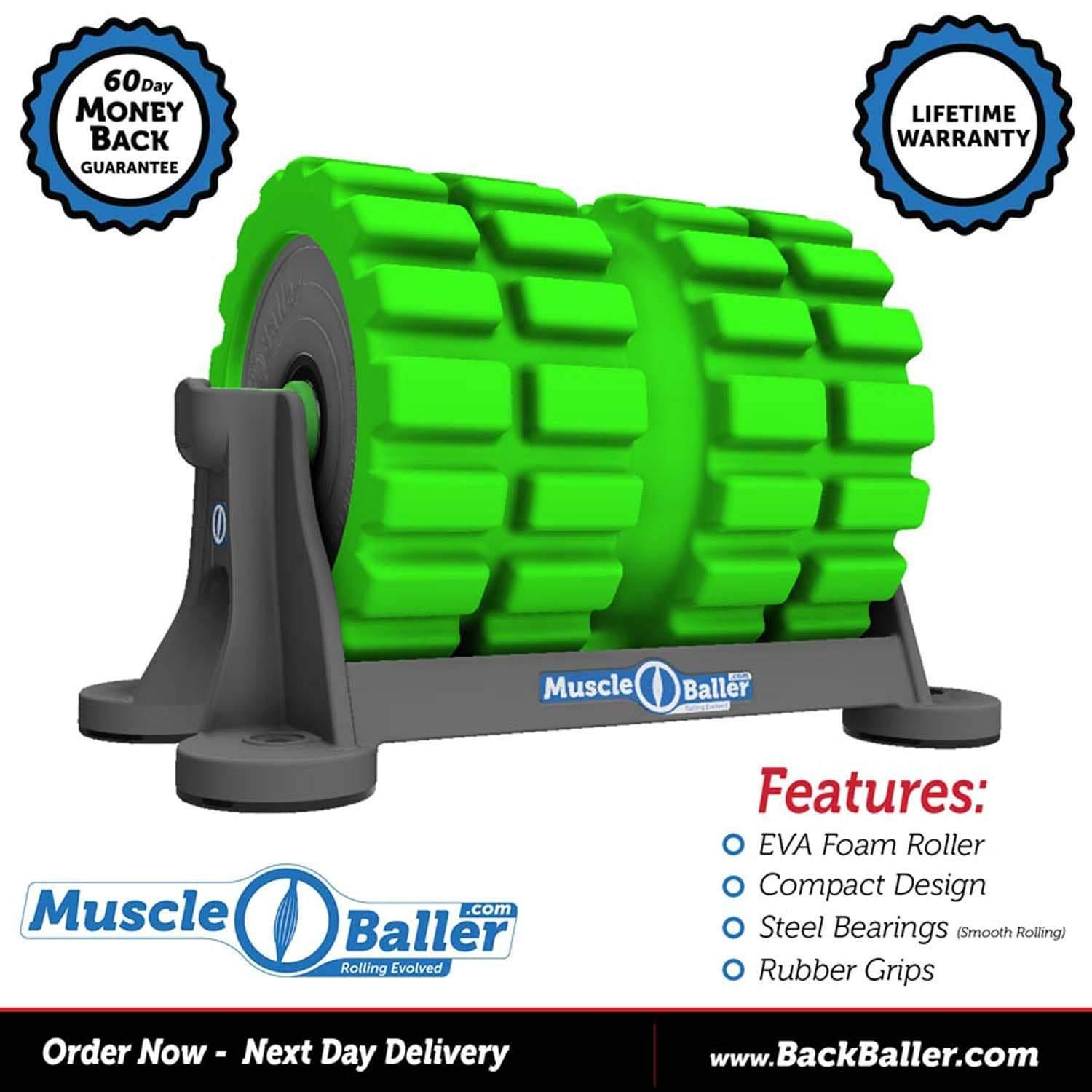 BackBaller MuscleBaller Foam Roller - Bourke Sports Limited