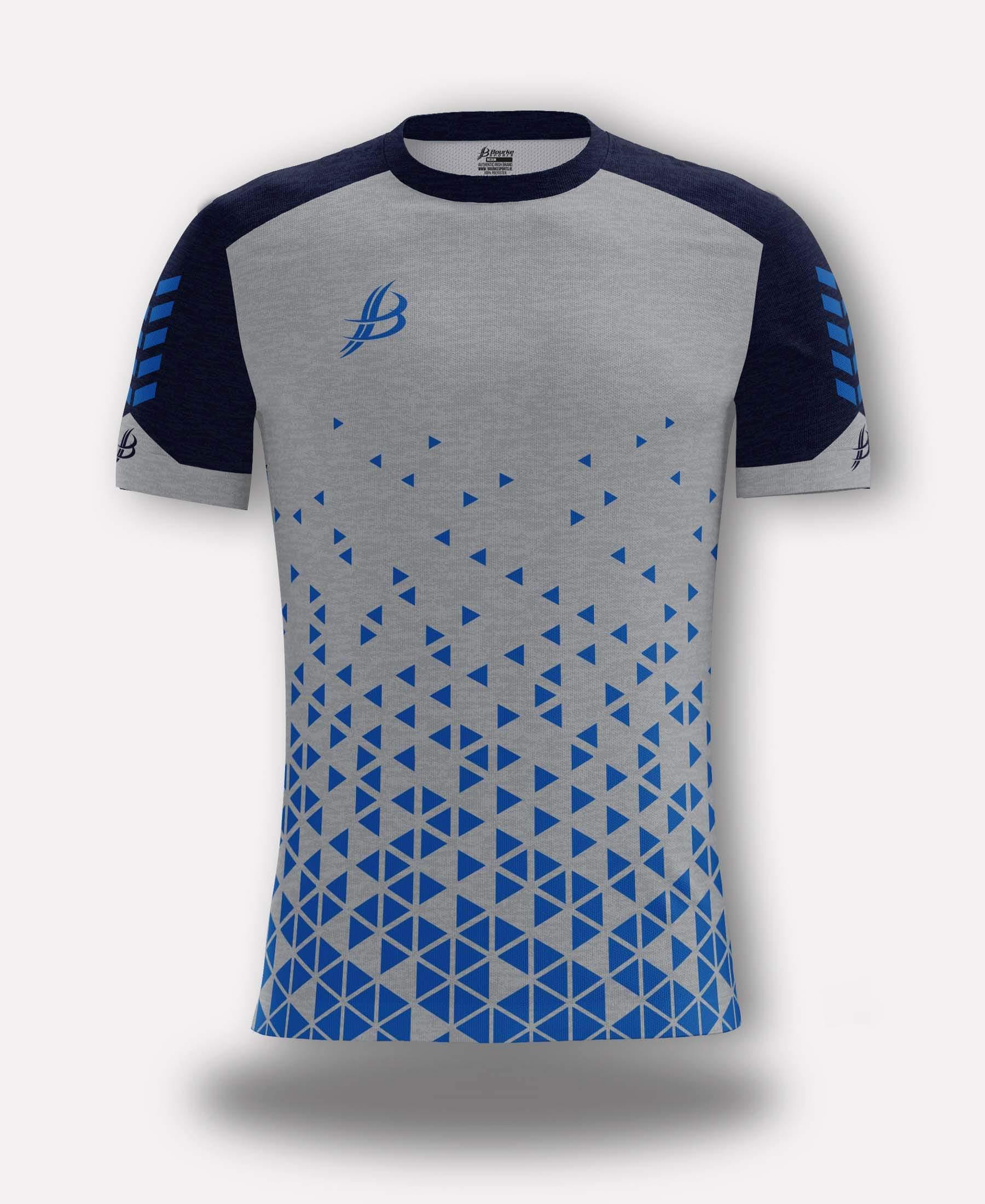 BUA20 Adult Jersey (Grey/Navy/Royal)