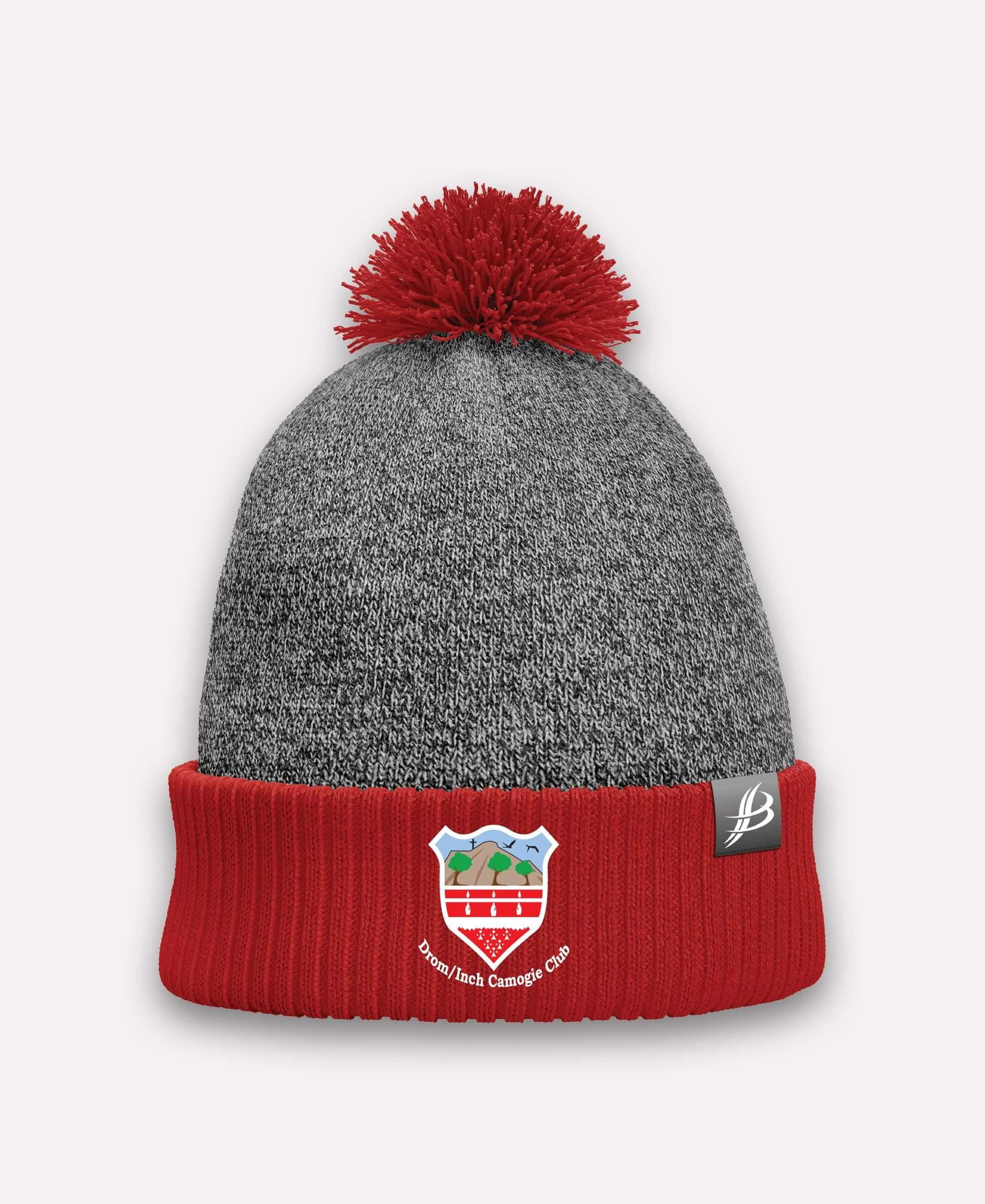 Drom and Inch Camogie Storm Bobble Hat