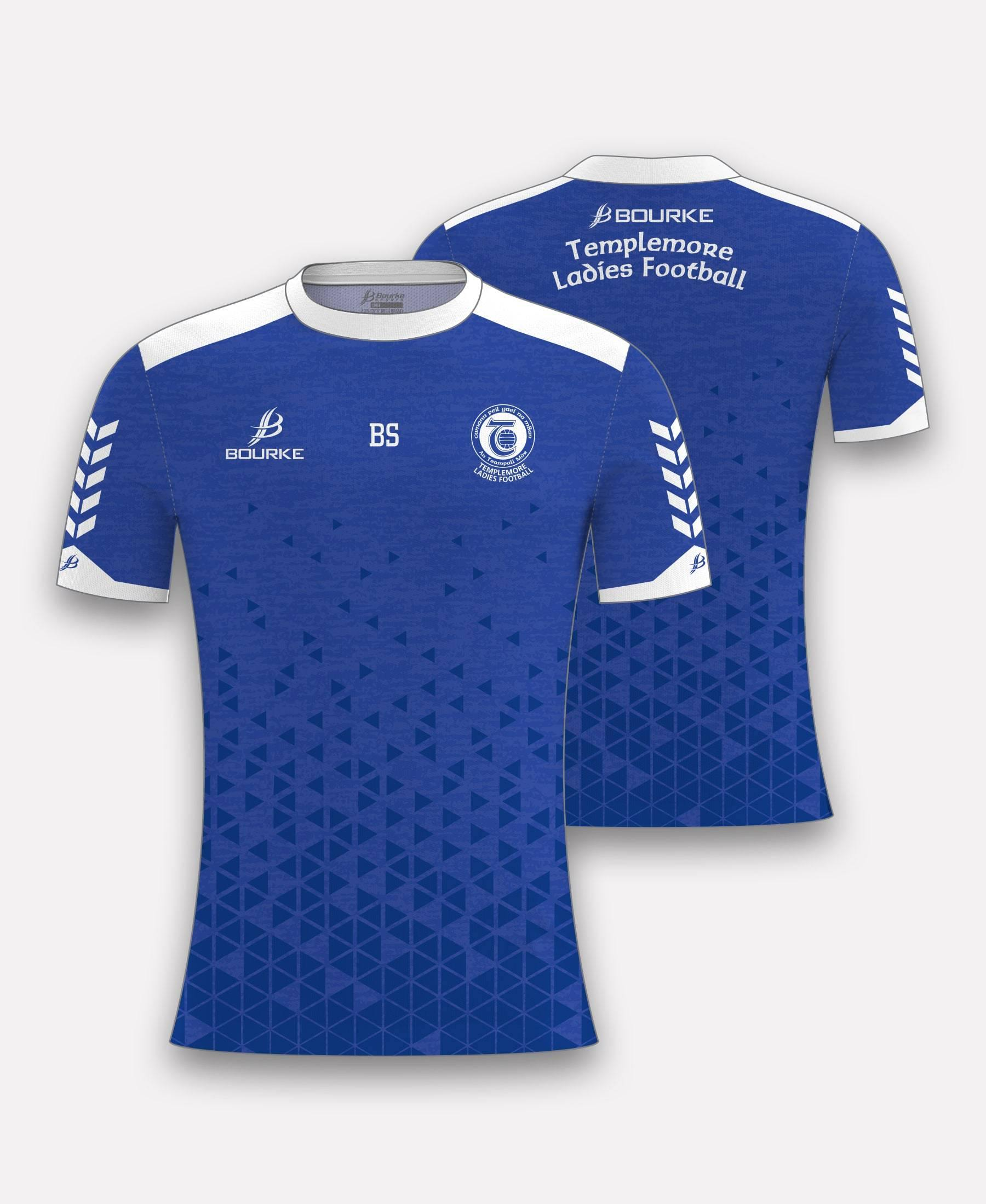 Templemore Ladies Football  Jersey