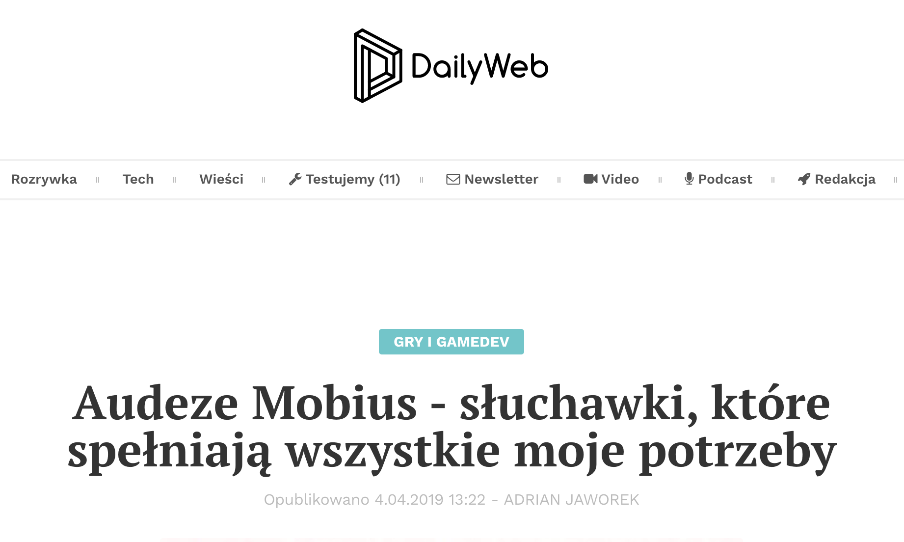 Mobius review from Poland