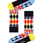 Abstract Cards Sock