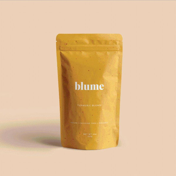 Blume - Turmeric Blend This golden mylk is the perfect mix of super-spices to get your body feeling fine. Support your immune system, get that skin glow and soothe achey joints with this healing blend of proven superfoods.