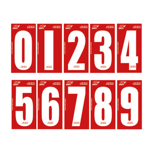 Junior Max - Super One Official Series Race Numbers (Set of 4)