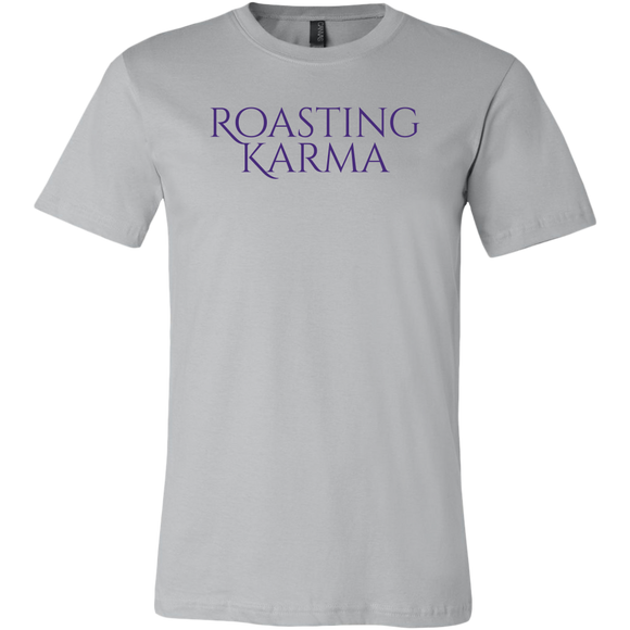 Roasting Karma (Book Font) - Men's Canvas Brand