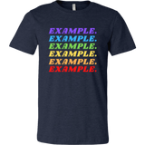 Be The Example (Chakras) T-Shirt - Men's Canvas Brand