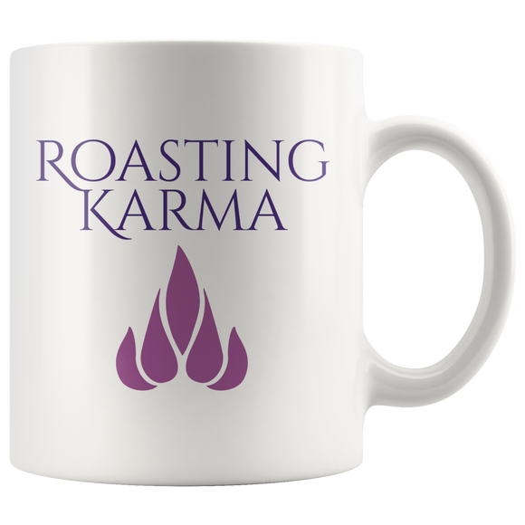 Roasting Karma (Flame) - Coffee Mug