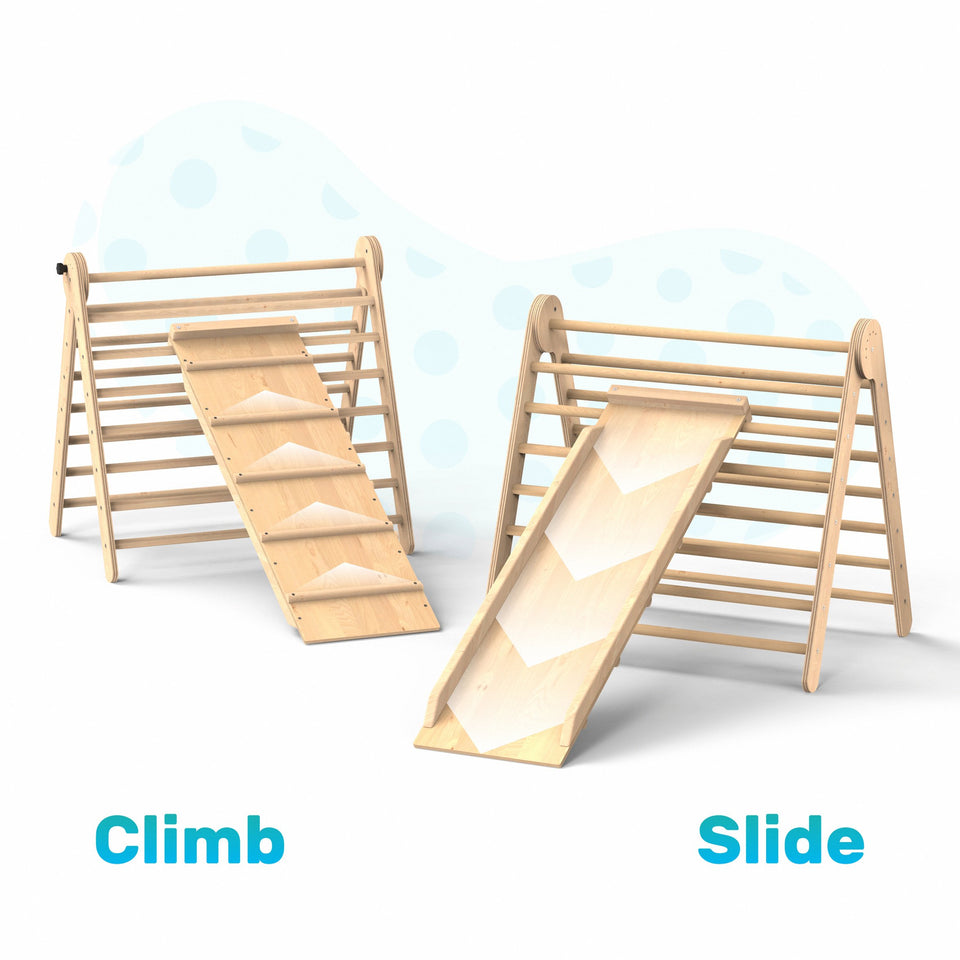 Indoor Playground Toddler Climber Slide TRIANGLE