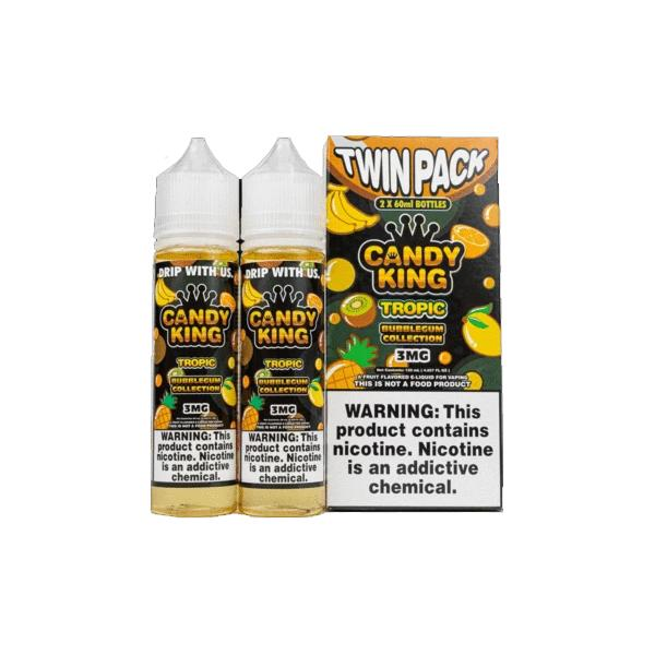Candy King Bubblegum Edition Twin Pack 0mg 2 x 50ml Shortfill (70VG/30PG)