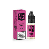 20mg ULTD Nic Salt 10ml (60VG/40PG)