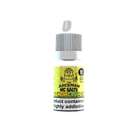 10mg The Juiceman 10ml Flavoured Nic Salt (50VG/50PG)