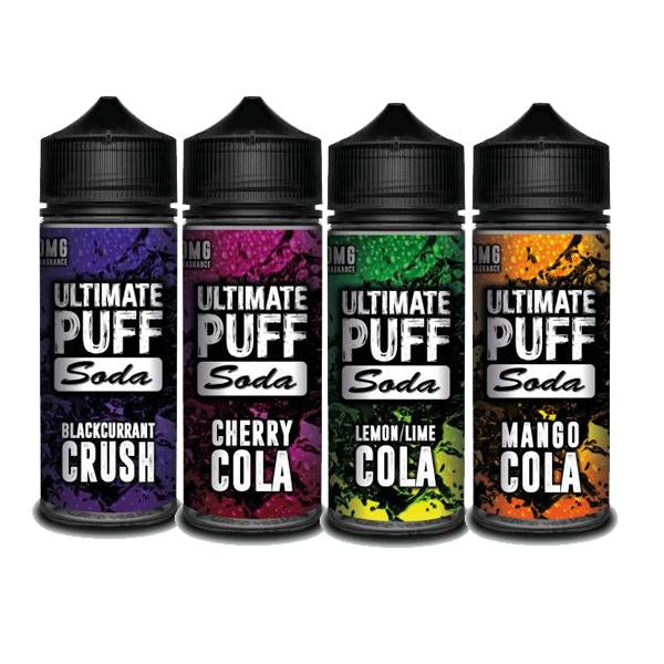 Ultimate Puff Soda 0mg 100ml Shortfill (70VG/30PG)