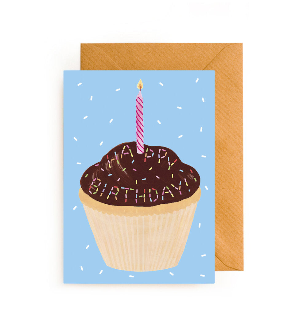 Cup Cake Scratch and Sniff Card