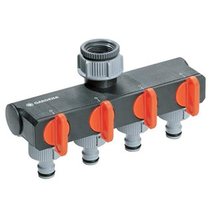 G-1194 Gardena 4-Way Channel Water Distributor