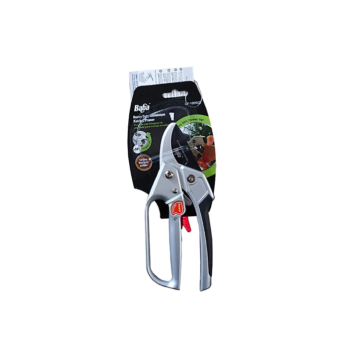 BABA GP-1009(2) Heavy Duty Aluminium Ratchet Pruner