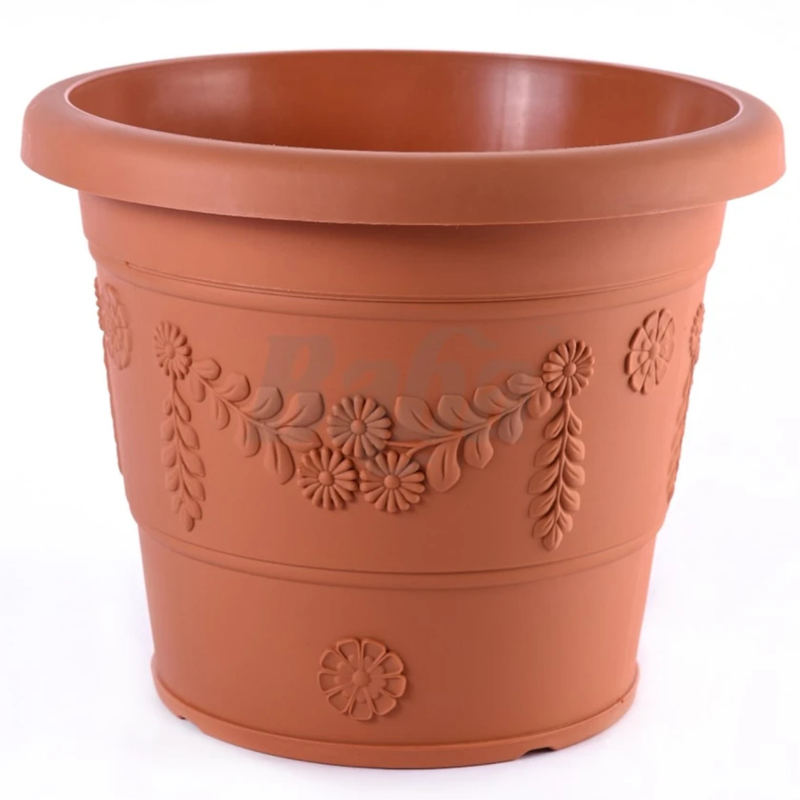BABA GR-630 Plastic Pot (Cotta)